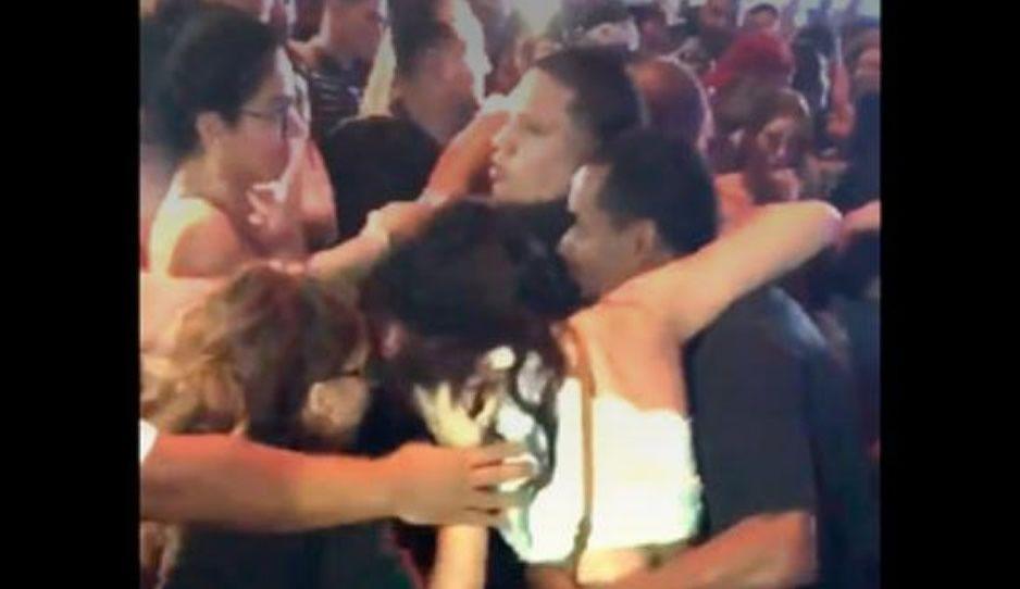 Fans de Bad Bunny se pelean en concierto