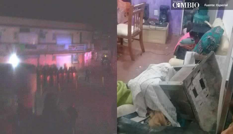 Intentan linchar a dos presuntos ladrones en Coronango