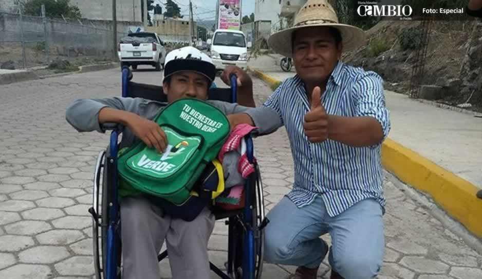 Marco Juárez con propuesta para mejorar la vida de los habitantes de Ocoyucan