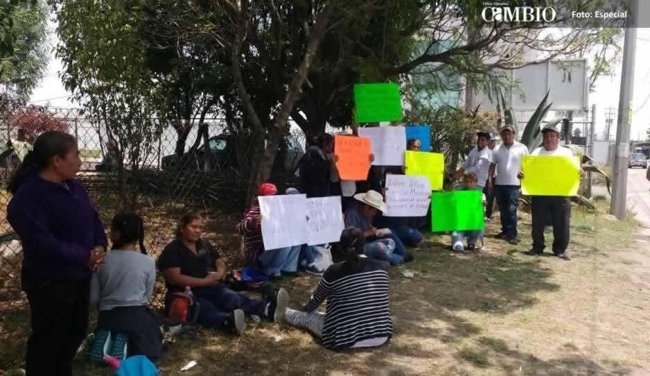 Pobladores de Juan C. Bonilla acusan que detenido es chivo expiatorio de la Fiscalía