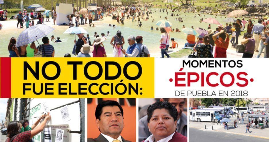 No todo fue elección: momentos épicos de Puebla en 2018