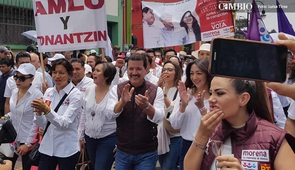 Luis Alberto Arriaga inicia campaña por la alcaldía con propuestas recicladas de José Juan