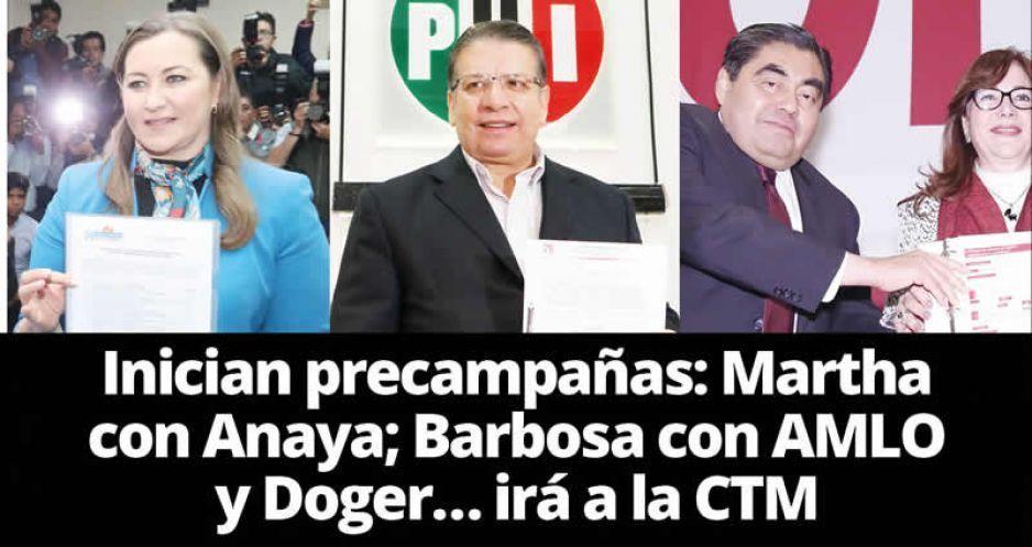 La Mixteca poblana brinda respaldo total a Martha Erika Alonso