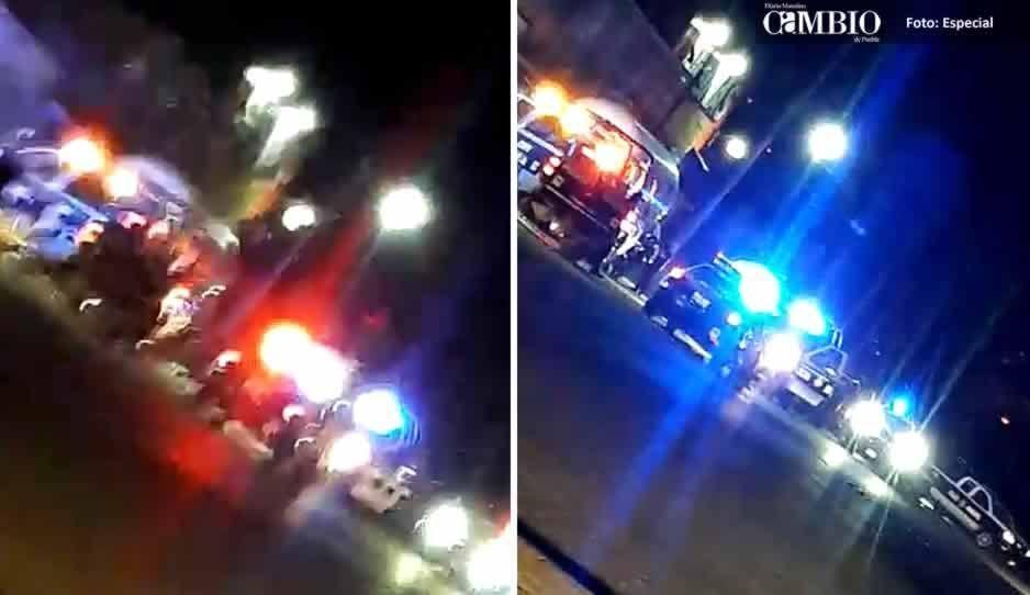 Tras persecución y balacera, policías estatales aseguran pipa de gas