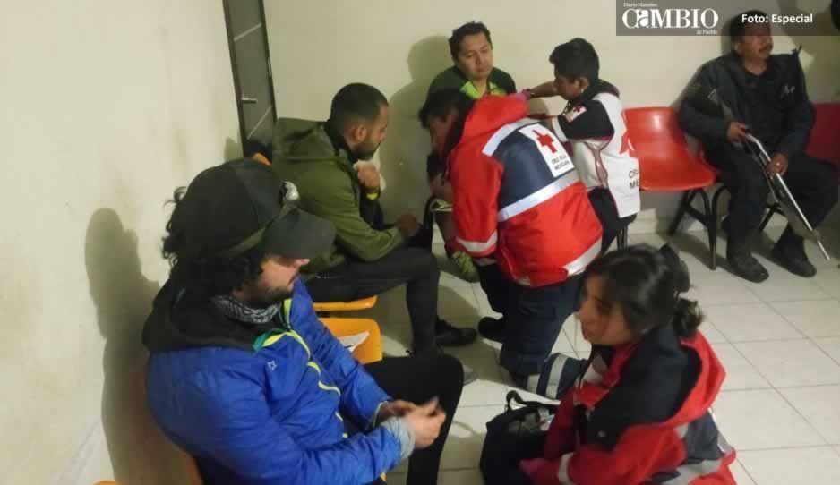 Rescatan a alpinistas extraviados en el Ixta-Popo