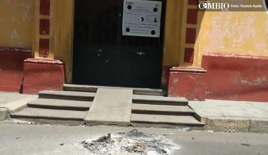 En riesgo la elección de Tianguismanalco por quema y robo de casillas