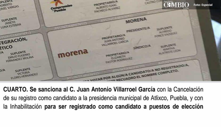 Morena baja a Villarroel como candidatotras irse al Mundial