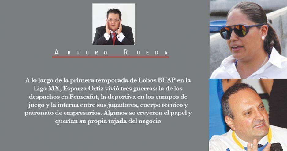 La mafia del poder de Femexfut vs Lobos BUAP