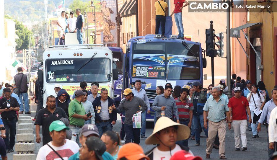 SSG y transportistas acuerdan sostener reunión con la SIMT para negociar aumento al pasaje