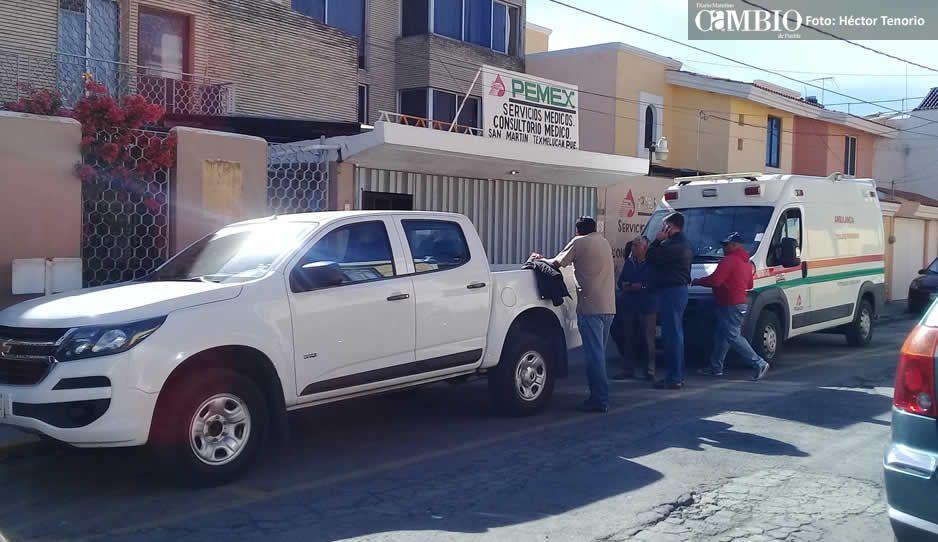 Denuncian pésimo estado de la clínica de Pemex en San Martín