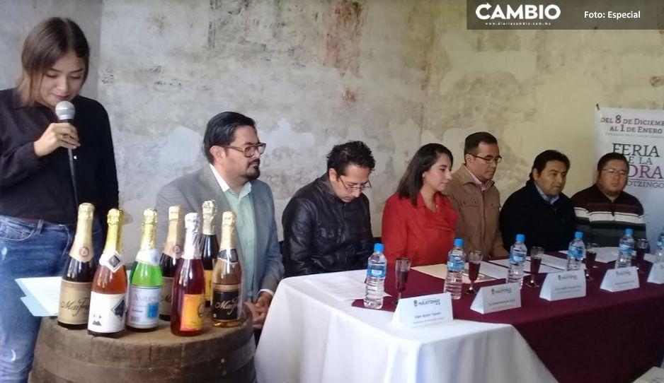 Ven a deleitar el paladar a la Feria de la Sidra en Huejotzingo