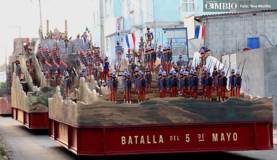 Conoce el dispositivo de vialidad para el desfile del 5 de Mayo
