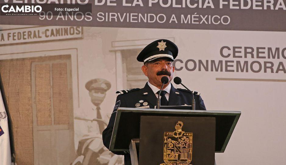 Héctor Sánchez Moreno es el nuevo titular de la Policía Federal en Puebla