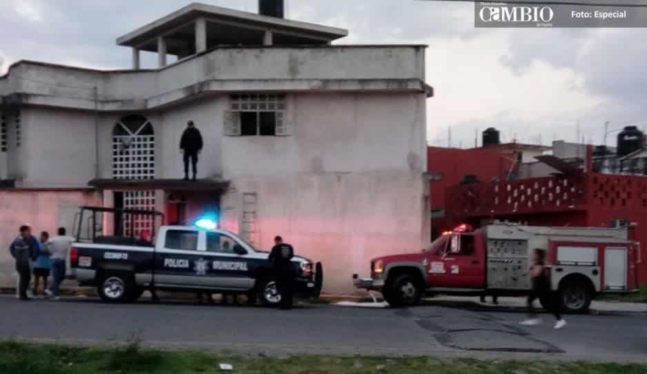 Se incendia una vivienda en Teziutlán; no se reportan heridos