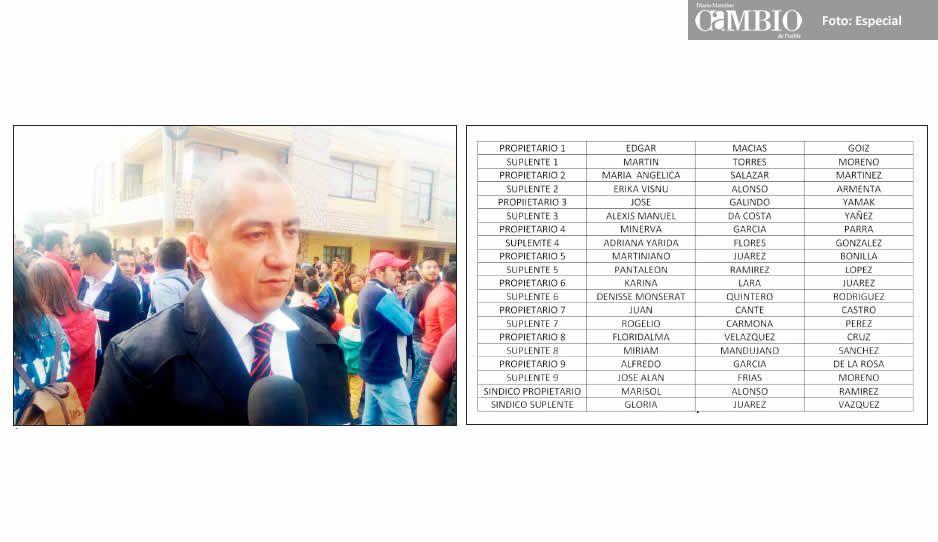 Filtran planilla de Édgar Macías Goiz para la alcaldía de Texmelucan: cuates y compromisos