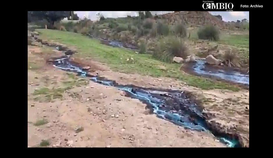 Otro derrame de combustible en Tláloc