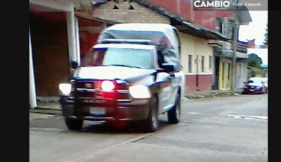 Zona Necaxa-Tenango en alerta por robos constantes, ahora le tocó a un pensionado