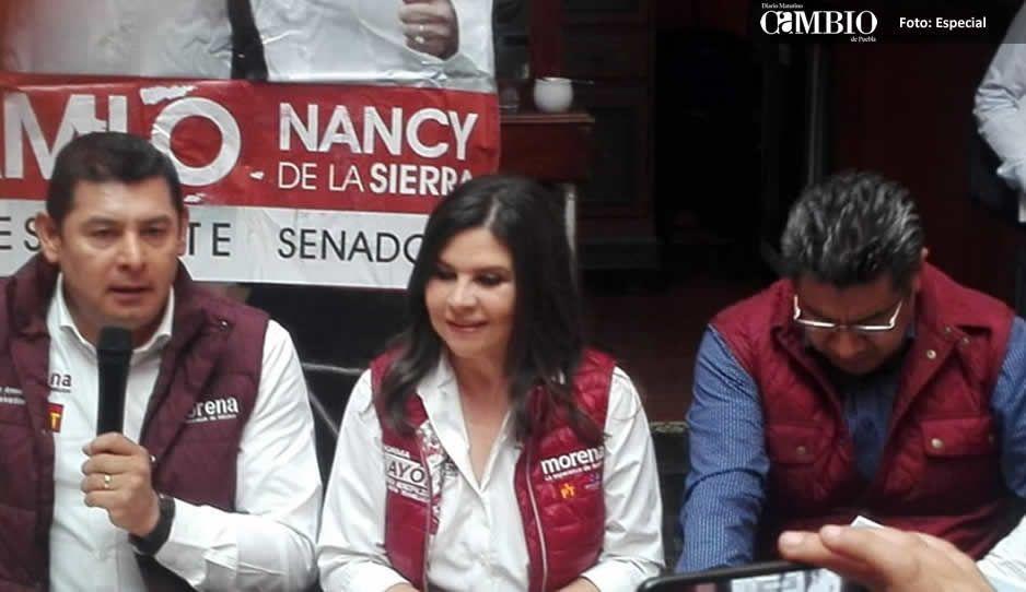 Arrasa Morena con candidaturas en Texmelucan