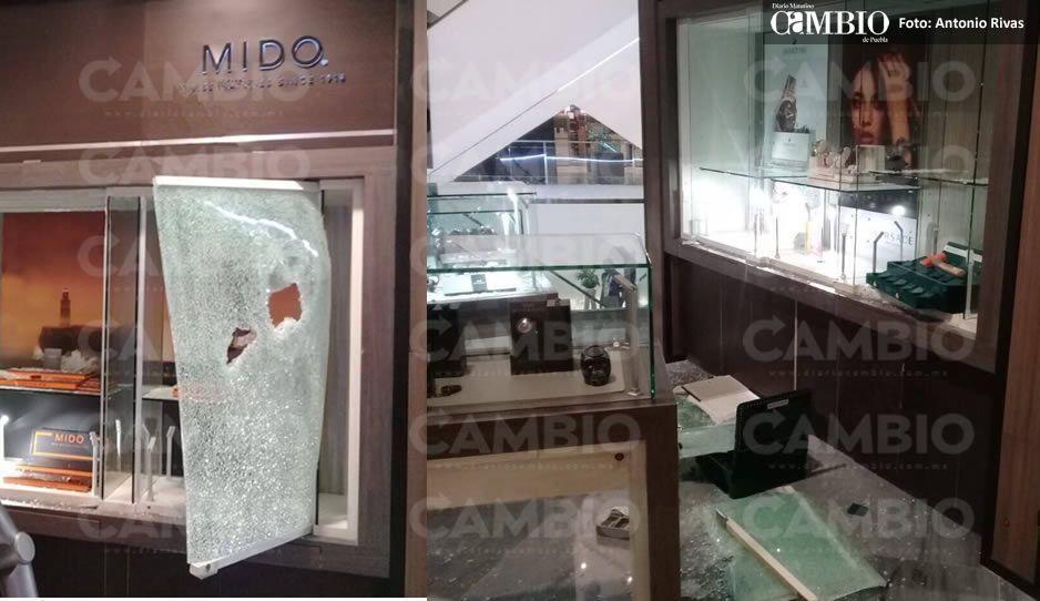 Ratas asaltan joyería de Liverpool en Angelópolis ¡se surten de alhajas y relojes!