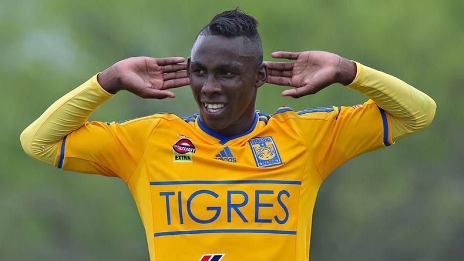 Julián Quiñones ex goleador de Lobos debuta con Tigres