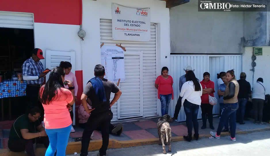 Cómputos distritales de Texmelucan y Huejotzingo se realizan sin incidencias