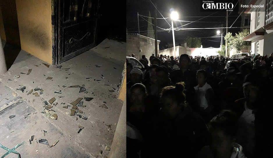 Edil de Quecholac acusa a militares de irrumpir de madrugada en domicilios y causar destrozos (Entrevista)