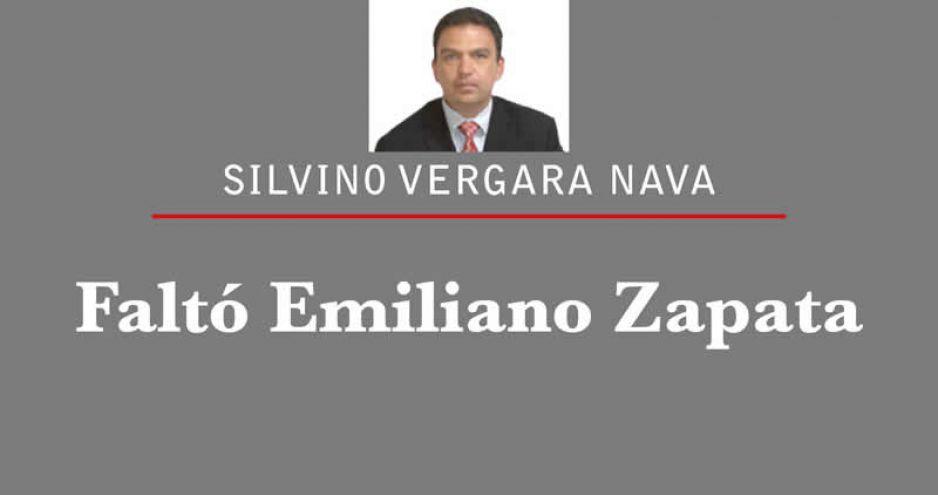 Faltó Emiliano Zapata