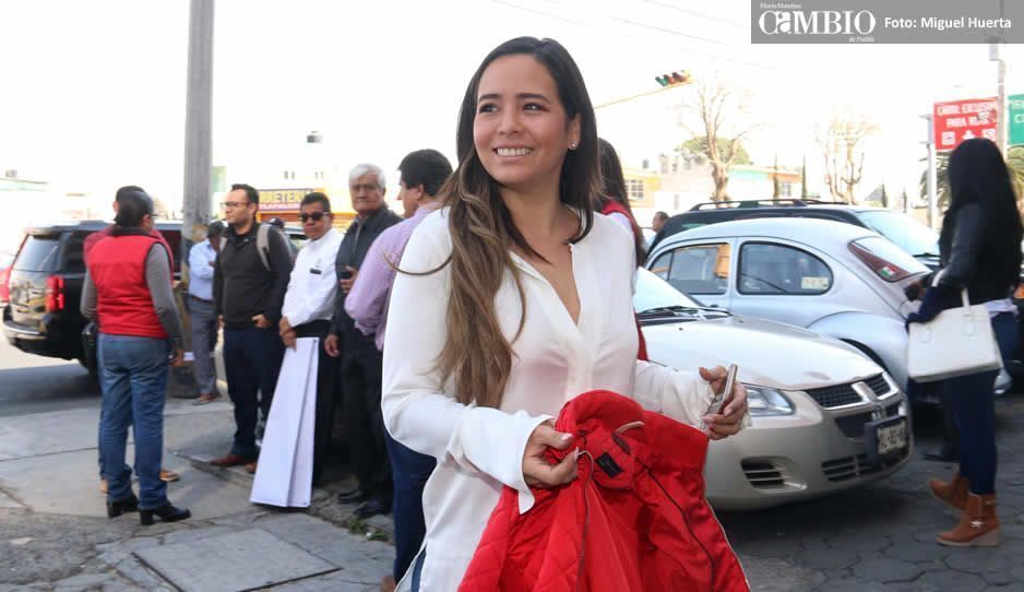 Doger rinde protesta como candidato a gobernador de Puebla