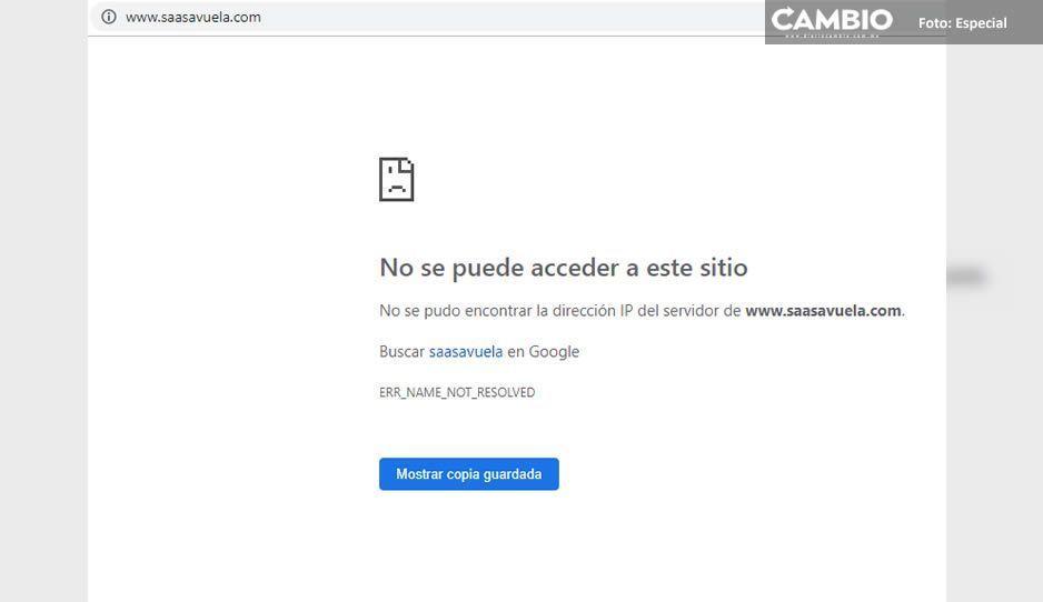 Se tragó la tierra a la empresa Servicios Aéreos del Altiplano tras helicopterazo, página y teléfonos siguen sin estar disponibles