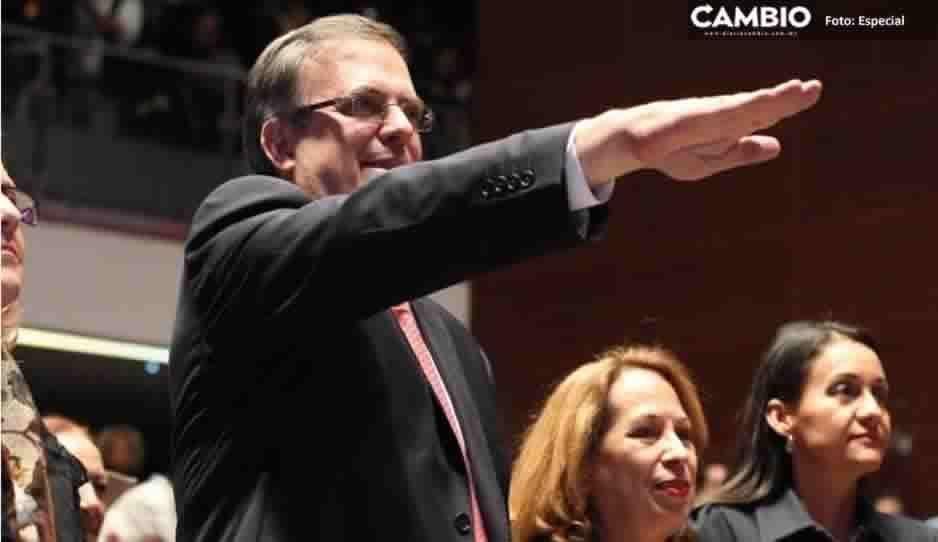 Ratifica Senado a Marcelo Ebrard como titular de SRE