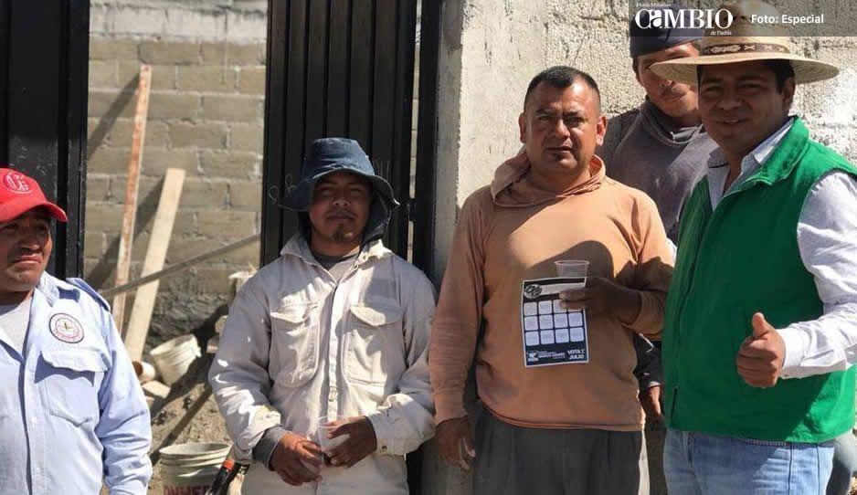 En Ocoyucan la gente pide un cambio y apoya a Marco Juárez para la presidencia municipal
