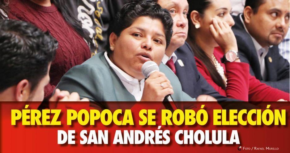 Karina Pérez Popoca se robó elección de San Andrés Cholula