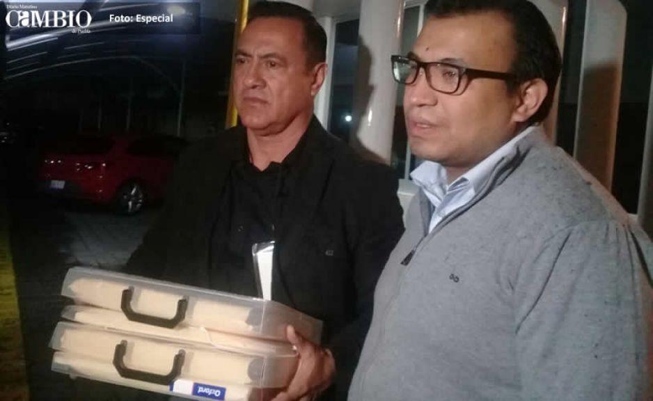 Juan Pablo Cortés presenta impugnación en contra de sentencia del TEEP por triunfo de Martha Erika
