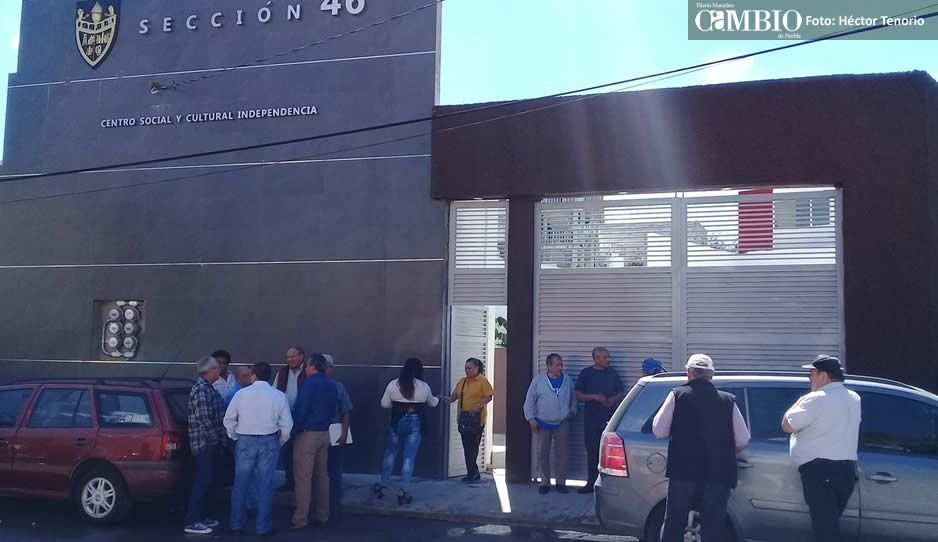 Bajo engaños reeligen a Jorge Luna como líder del sindicatode trabajadores jubilados de Pemex