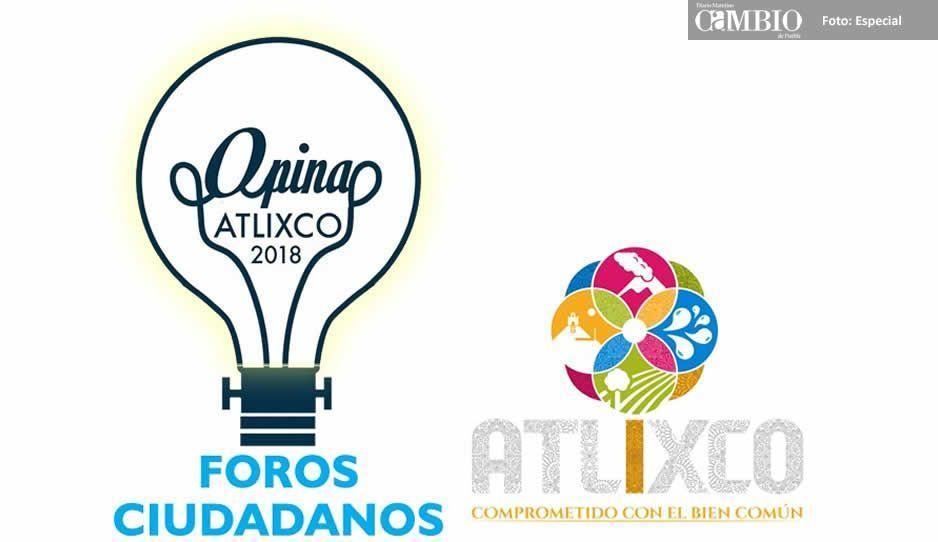 Atlixco no se resiste a la moda y lanza foros de consulta ciudadana