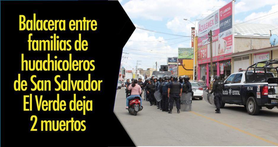 Huachicoleros rescatan dos cadáveres en San Martín e impiden su traslado