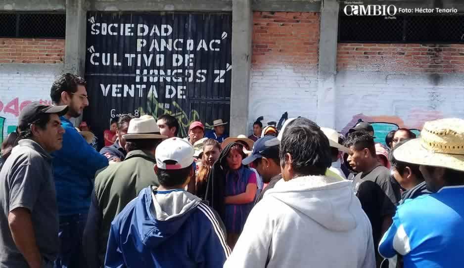 Vecinos de comunidad en Huejotzingo se oponen a extracción de agua para suministrar a otra