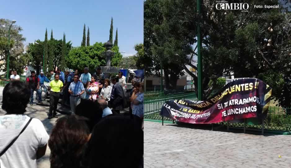 Vecinos de la colonia Álvaro Obregón se unen en contra de la delincuencia
