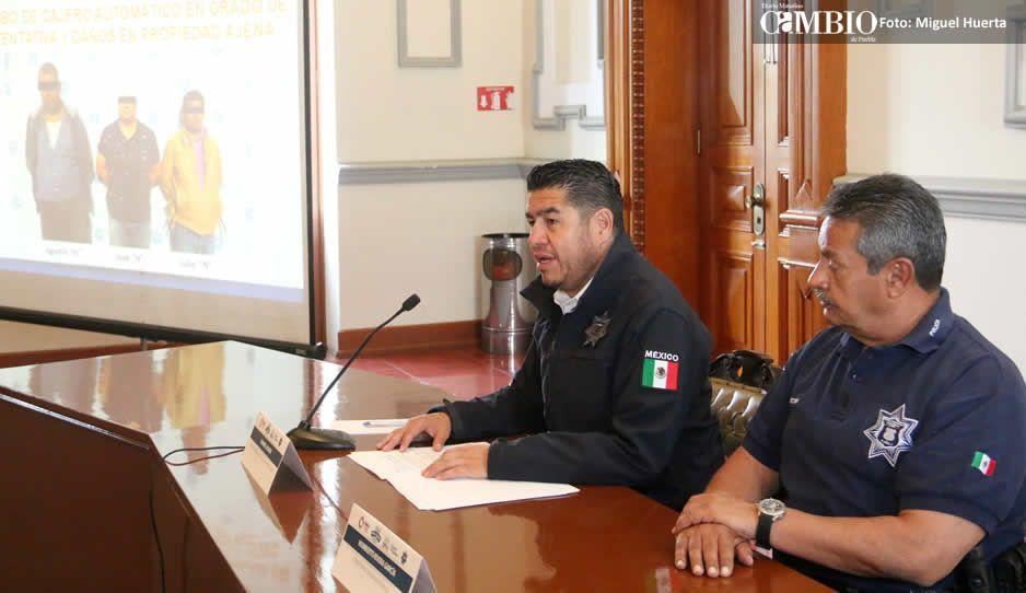Anuncia Alonso 41 detenidos y 9 autos recuperados en una semana