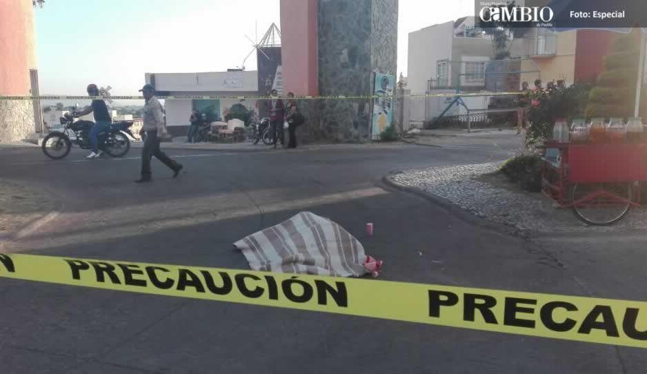 Matan a vendedor de raspados en Atlixco