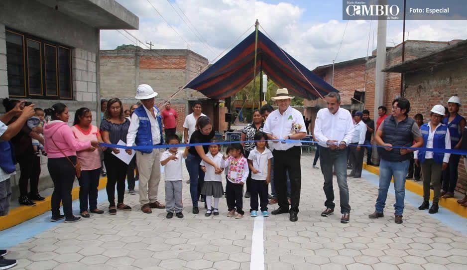 Galeazzi Berra asegura que realizará obras en Atlixco hasta el último día de su gestión