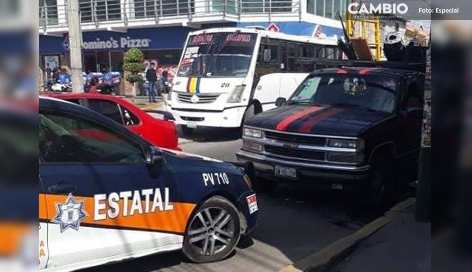 Cuarto asalto del día: atracan ruta Azteca en la Joaquín Colombres y hieren a una mujer