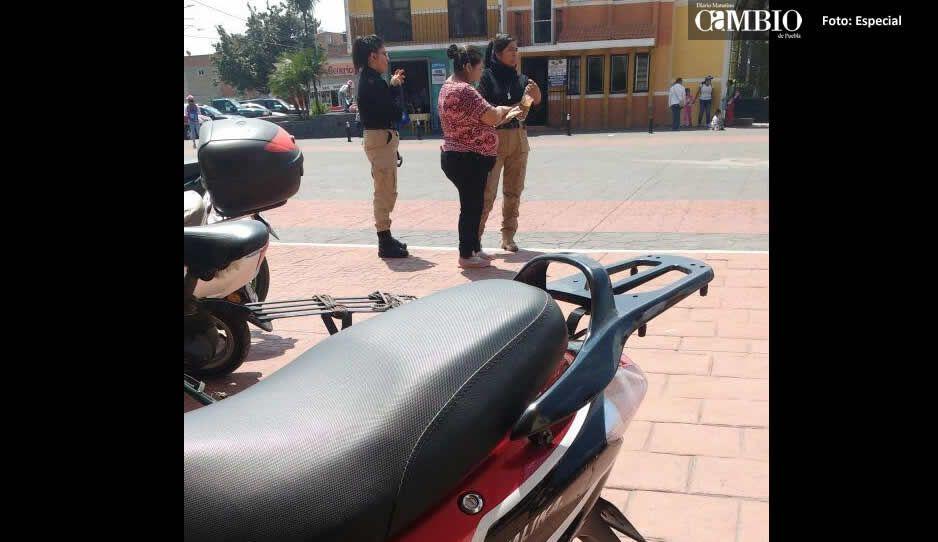 Ayuntamiento de Cuautlancingo disfraza  de guardias privados a polis cachirules