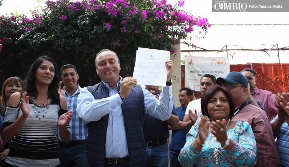 Alcalde electo de Atlixco desconfía de Galeazzi y su cuenta pública