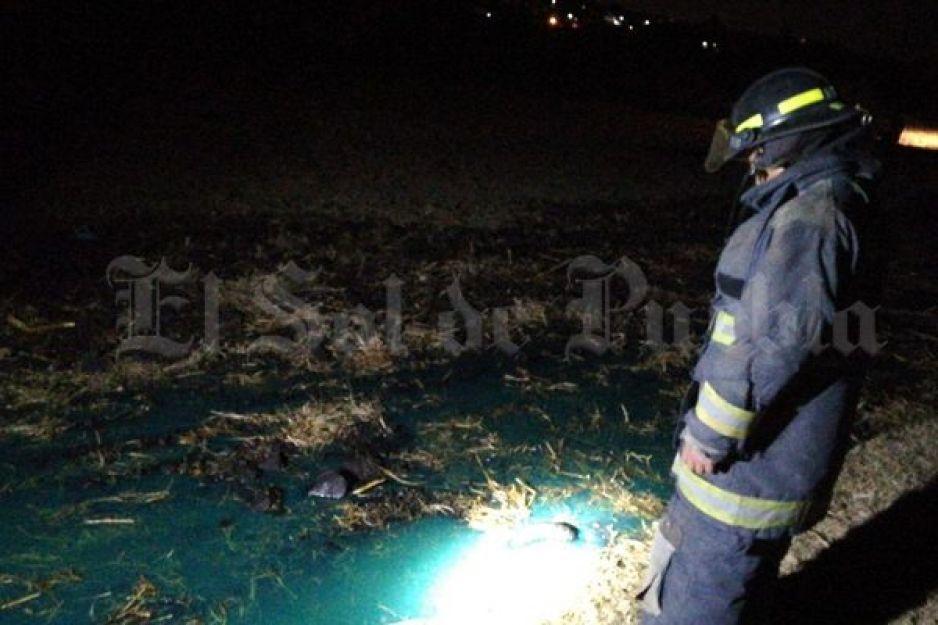 Toma clandestina provoca derrame de combustible en Coronango
