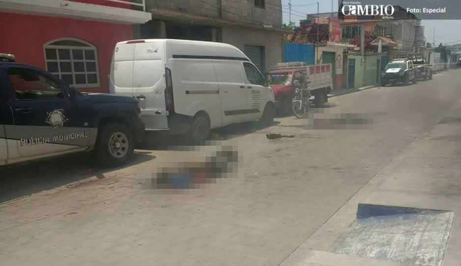 Queman vivos a 4 presuntos ladrones en Yehualtepec