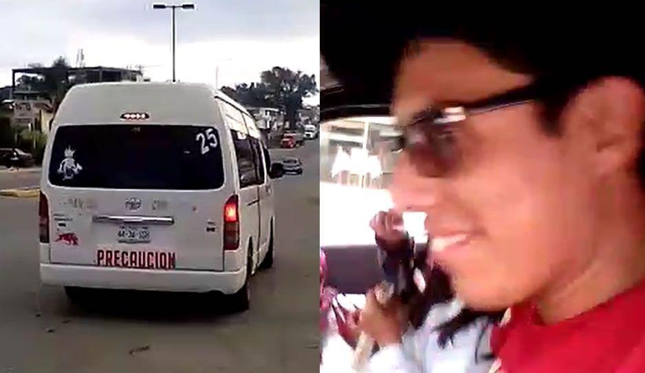 Choferes de combi en Xicotepec aumentan arbitrariamente el pasaje de 6 a 8 pesos (VIDEO)