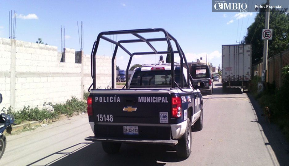 Hieren a policía durante un tiroteo en Texmelucan