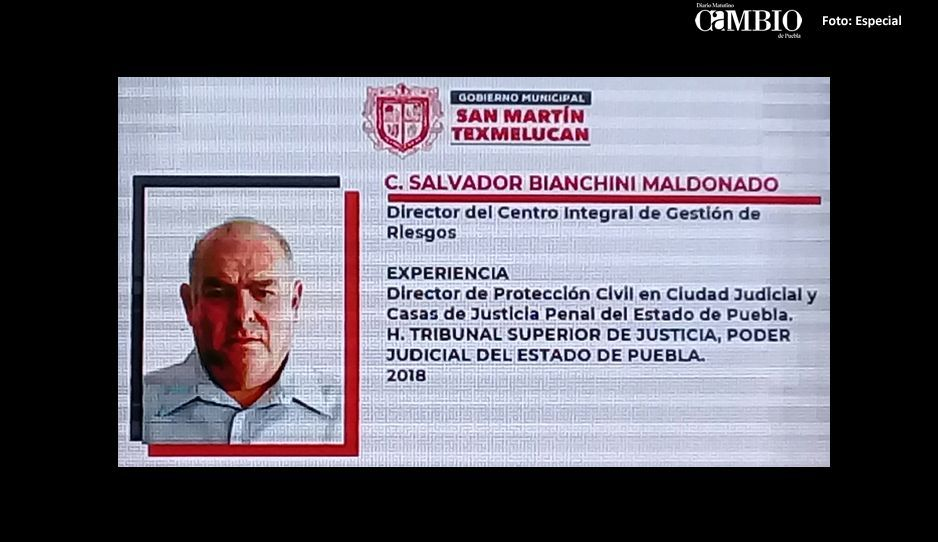 Director de Protección Civil en Texmelucan no se ha presentado; Layón ya busca otro