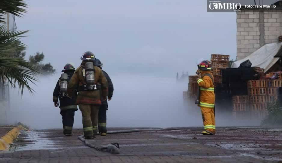 FOTOS Y VIDEO: Así es la neblina de gas LP que se eleva en la zona norte de Puebla capital aunque el ducto ya fue cerrado